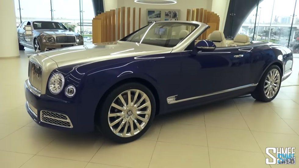 $3.5 Million Bentley Mulsanne Convertible spied in Dubai