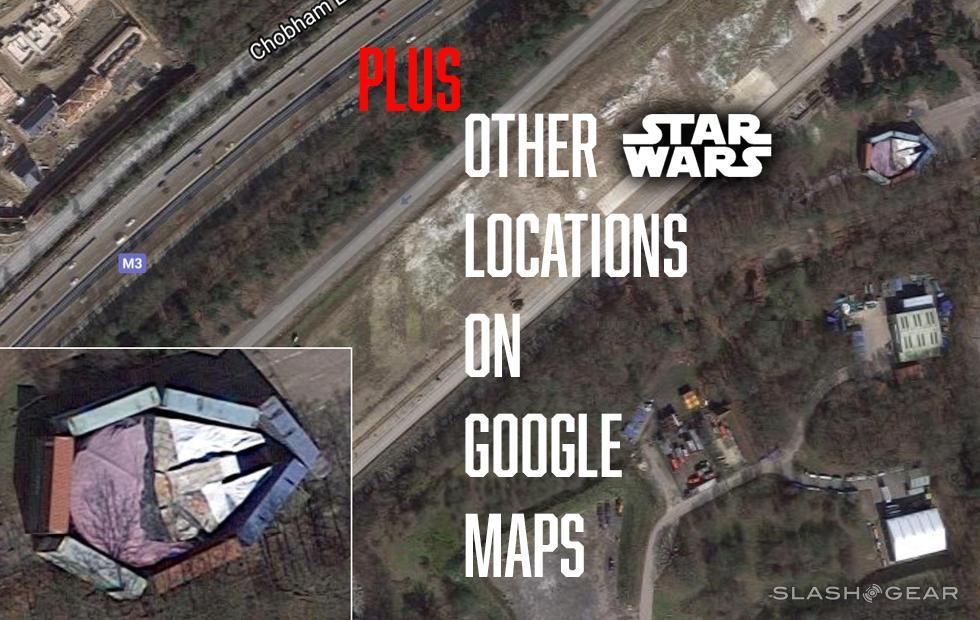 The Millennium Falcon was hidden badly : Here's more Star Wars on Google Maps