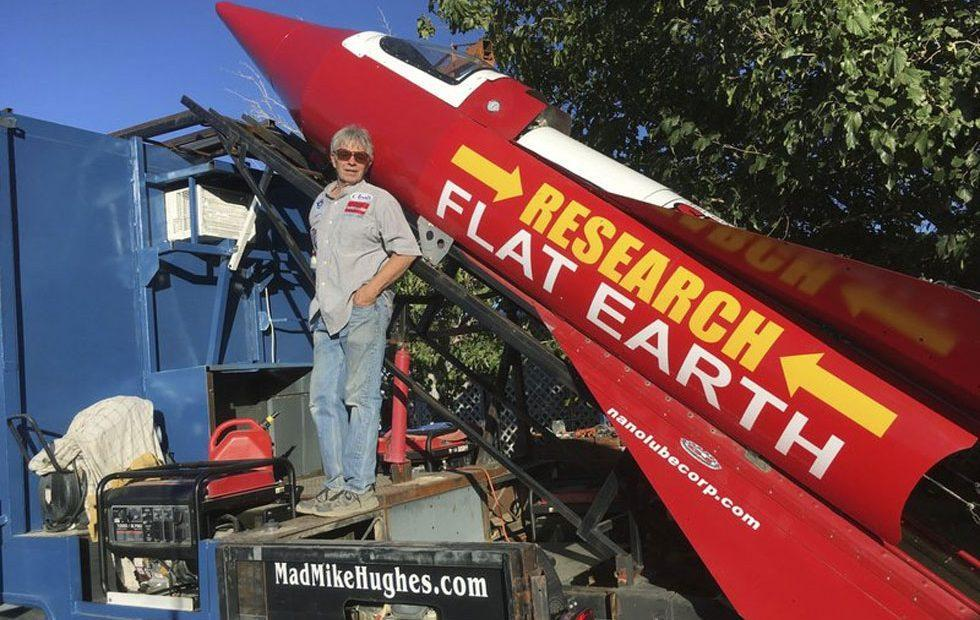 Surprise: Steam rocket man's flat-Earth flight grounded