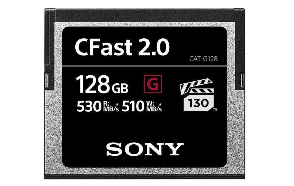 Sony G Series memory card claims fastest CFast 2.0 title