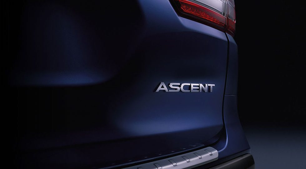 2019 Subaru Ascent SUV teases long-awaited 3-row return
