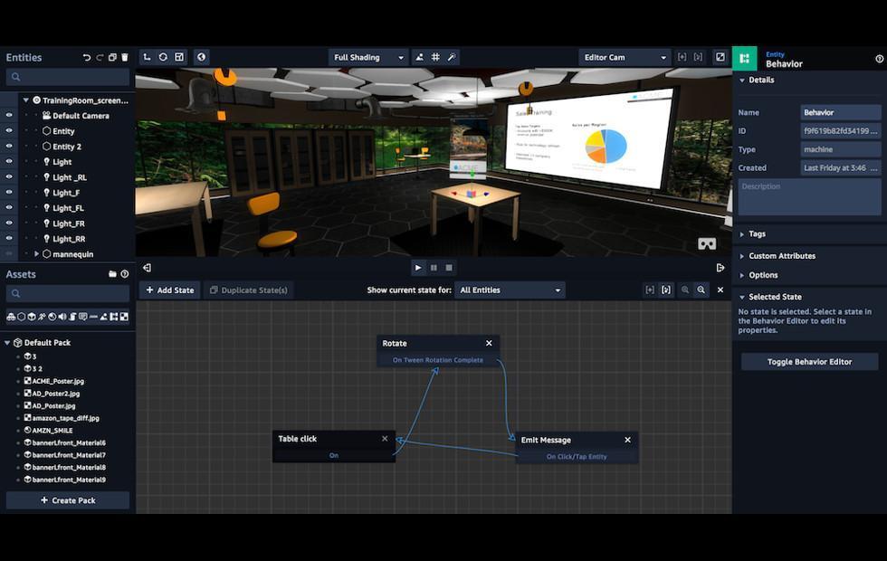 Amazon Sumerian wants to be the cross-platform VR/AR builder