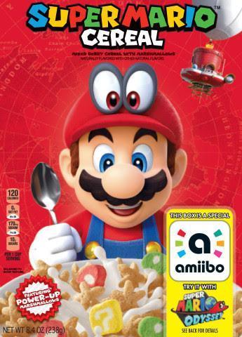 Super Mario Cereal is now Nintendo official - SlashGear