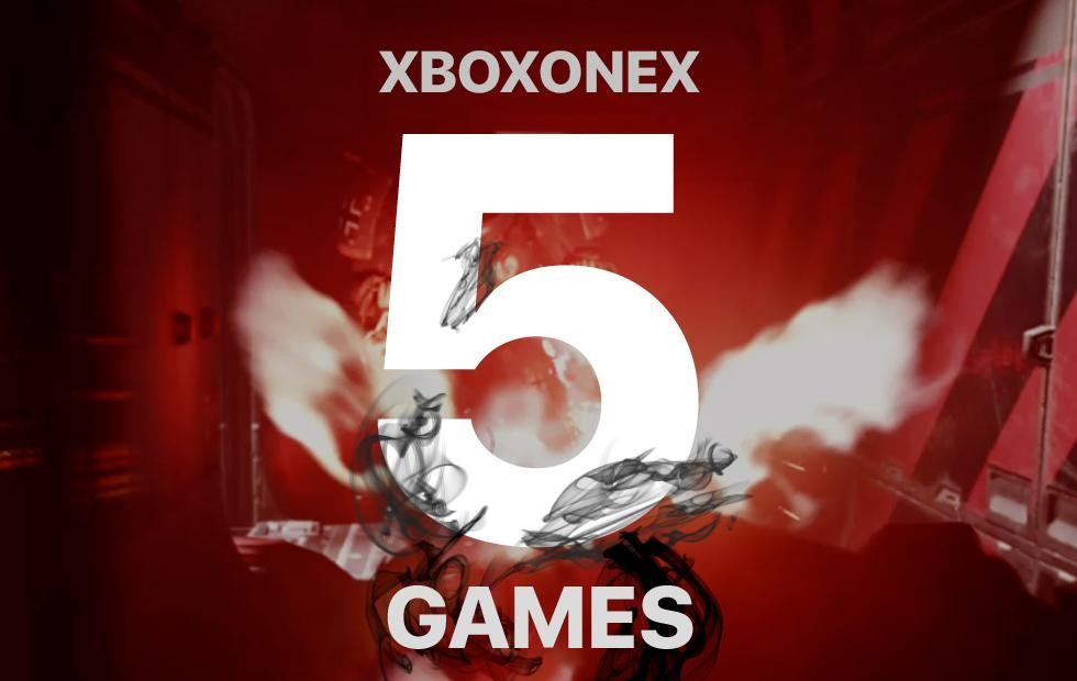 Xbox One X Release Games : The best 5 to start!