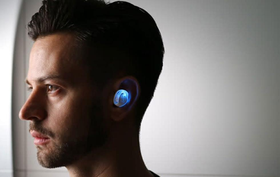 X-SHOCK Transparent Edition earbuds light up to keep runners safe