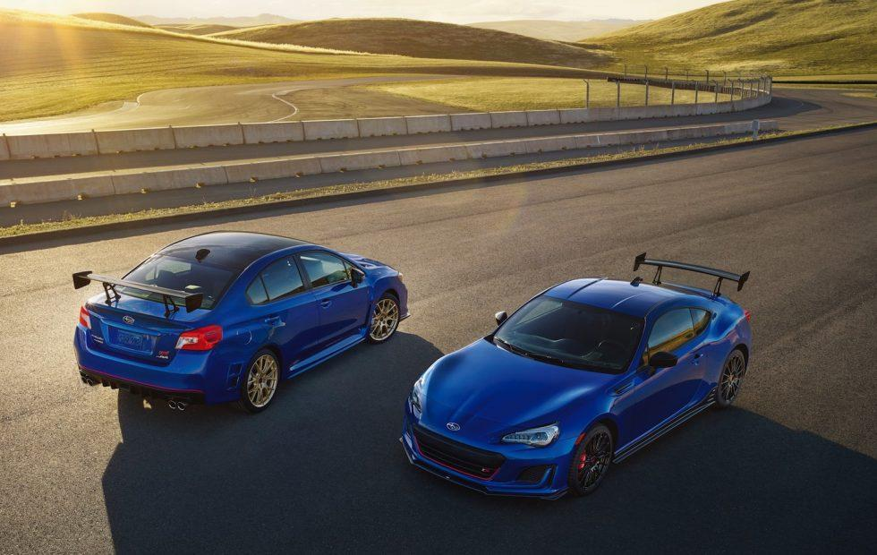Sti Type Ra >> Subaru Wrx Sti Type Ra And Brz Ts Are 2018 S Hot Blue