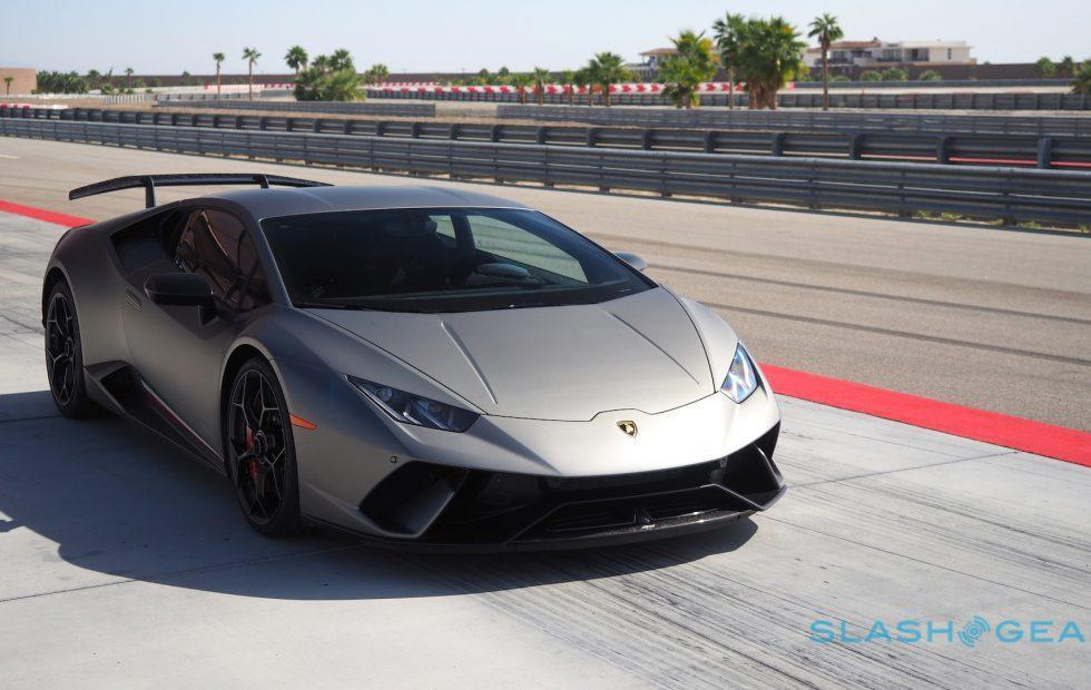 The 2018 Lamborghini Huracan Performante doesn\u0027t want to