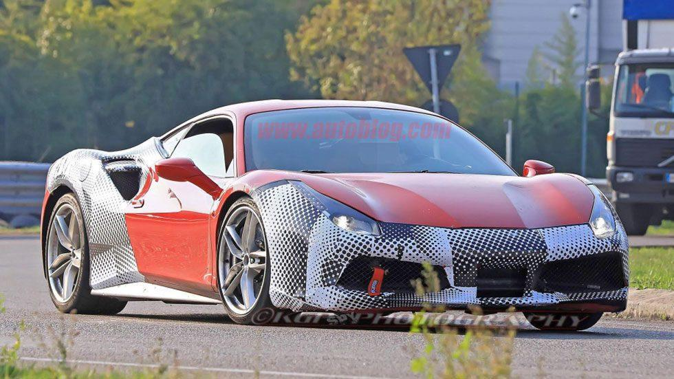 Could this be the Ferrari 488 GTO?