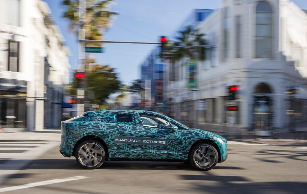 Jaguar's I-PACE is on the prowl in prime Tesla territory
