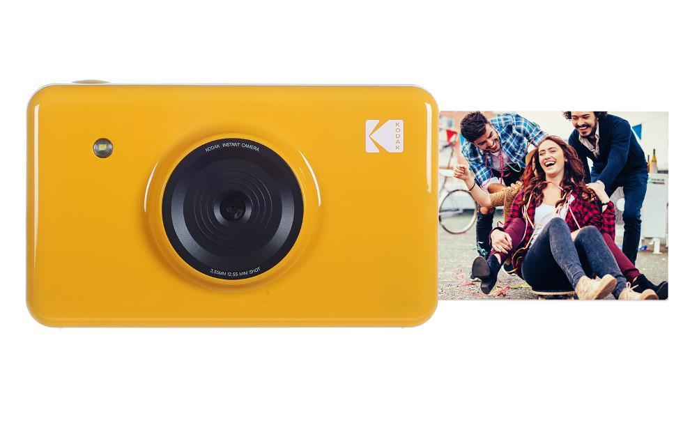 KODAK Mini Shot Instant Print Camera catches up with the times