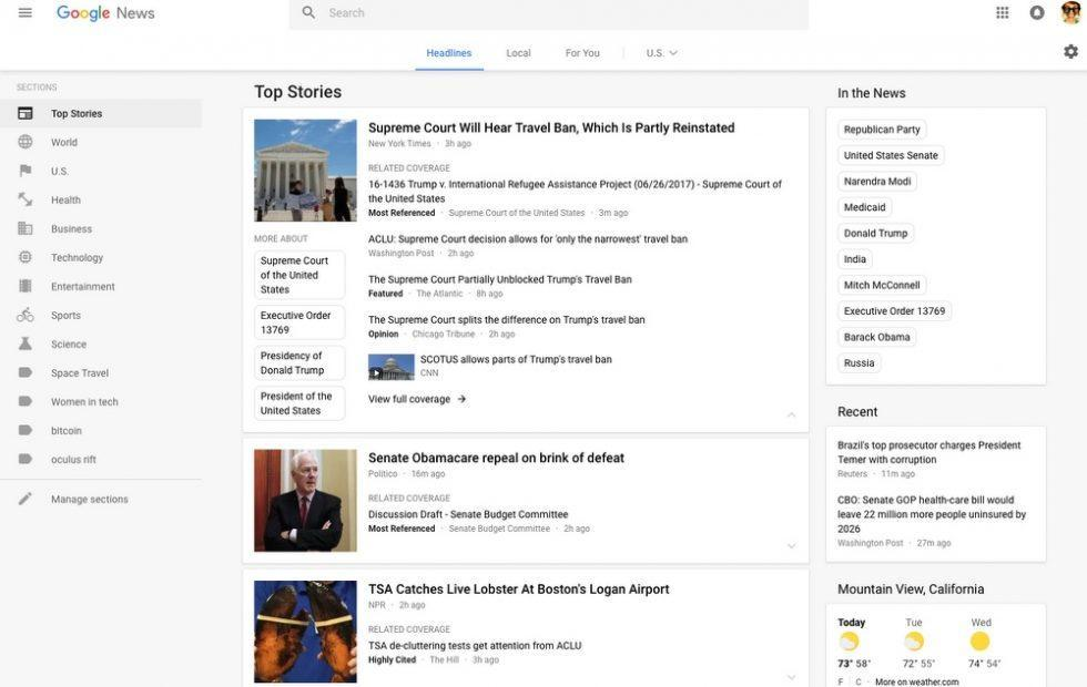Google stops showing news sites that hide their country of origin