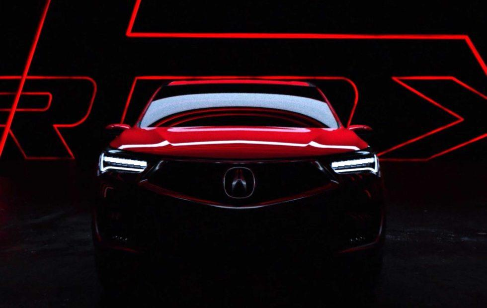 Acura RDX Prototype previews all-new path for SUV best-seller
