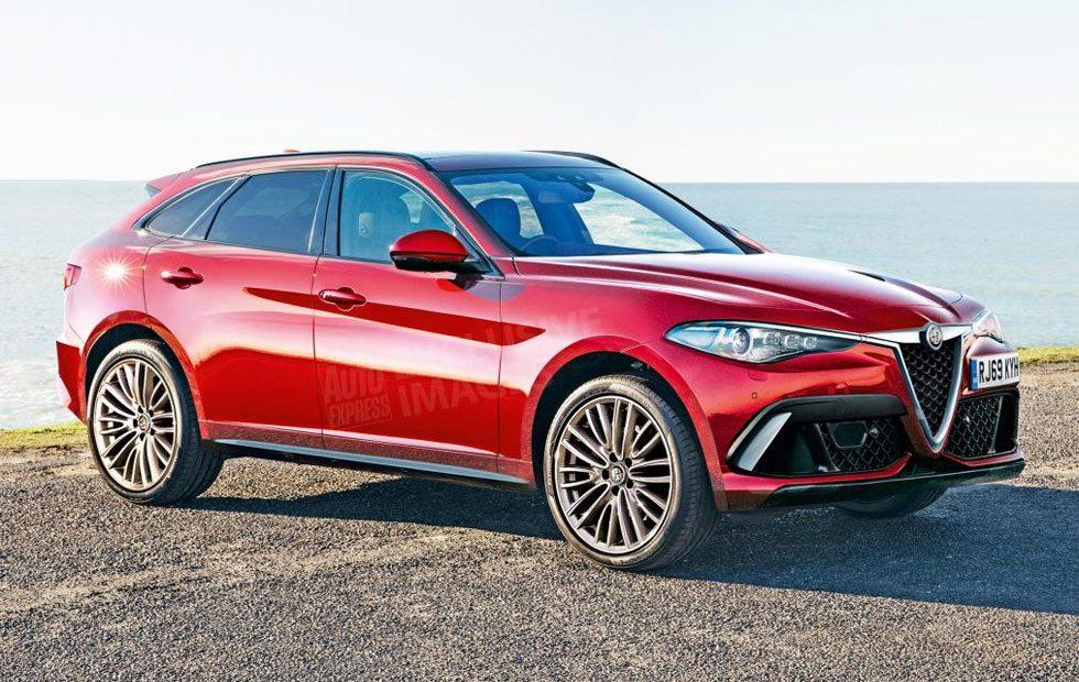 Alfa Romeo flagship hybrid SUV to be brands largest vehicle ever