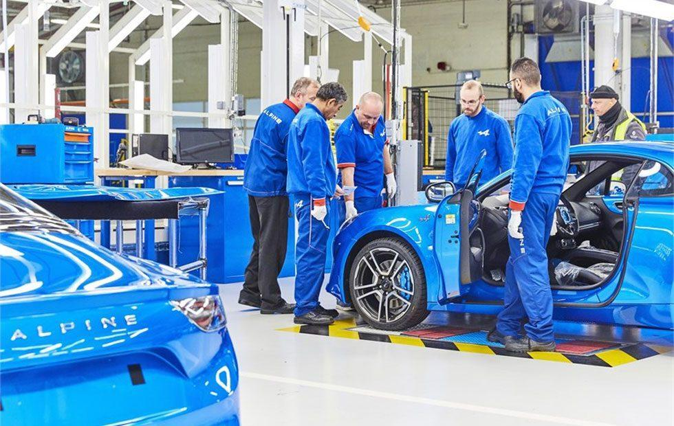 Renault opens new Alpine A110 production line