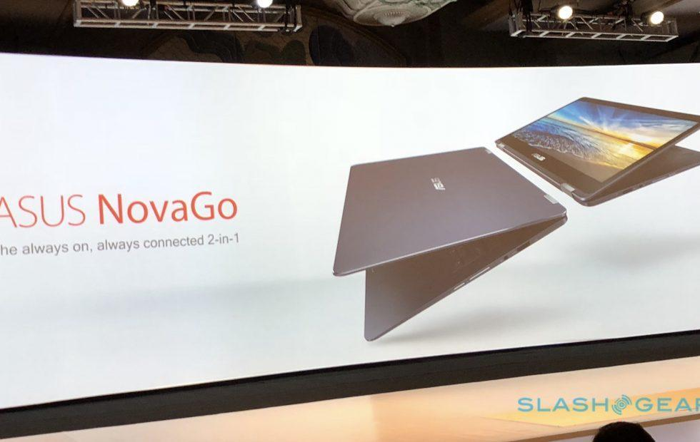 ASUS NovaGo Windows 10 on Snapdragon laptop has 22hr battery
