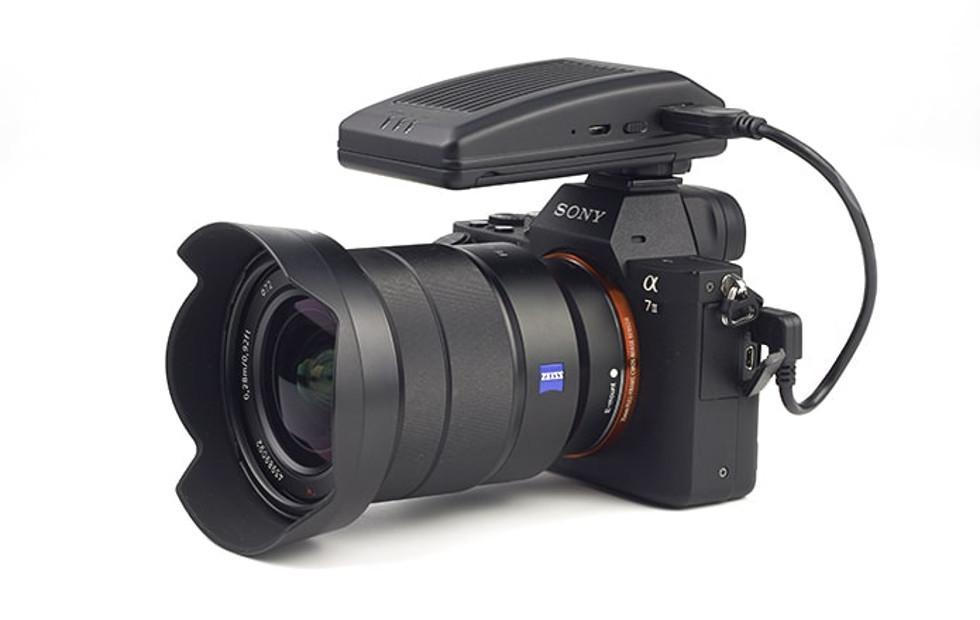 CamFi Pro wireless camera controller is almost as fast as cable