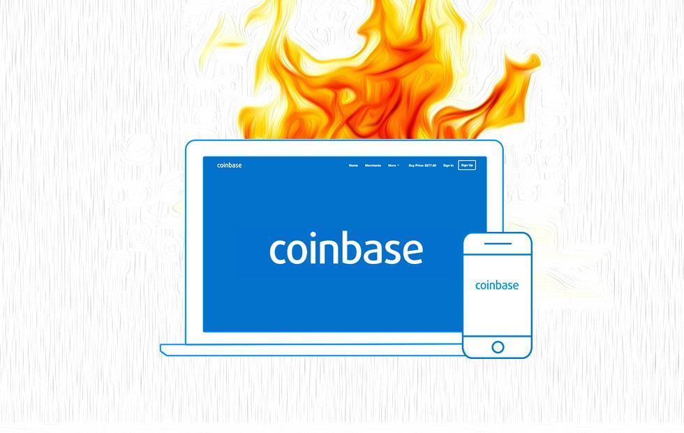 Coinbase Disabled and Down: BTC reacts by tanking [Update: it's back]
