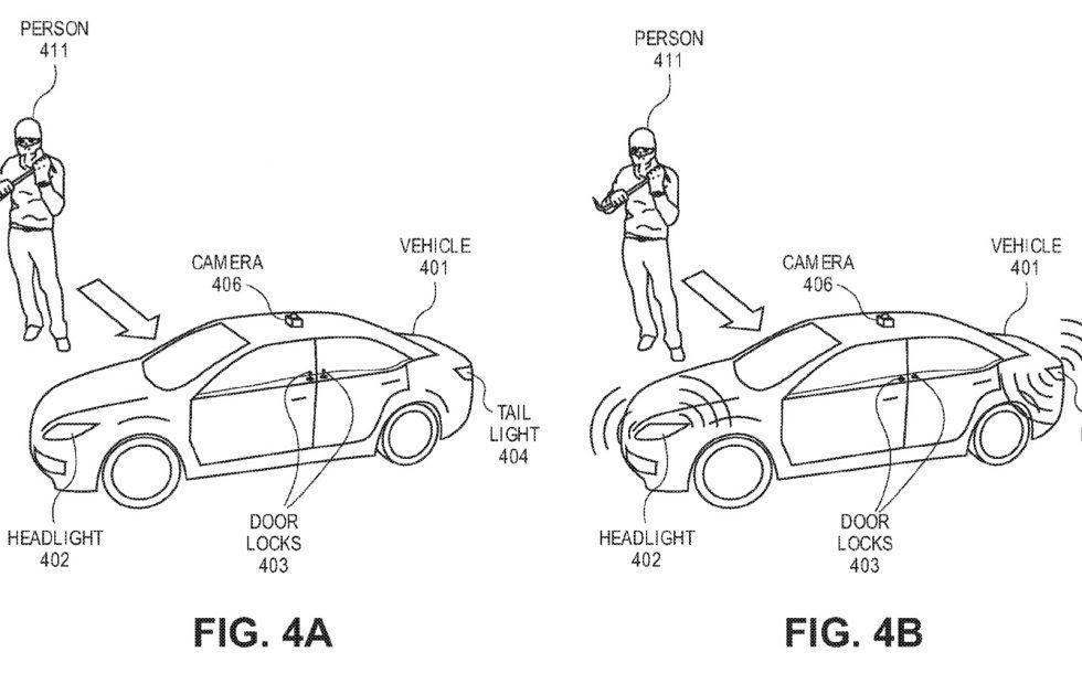 Ford wants to patent self-defense for autonomous cars