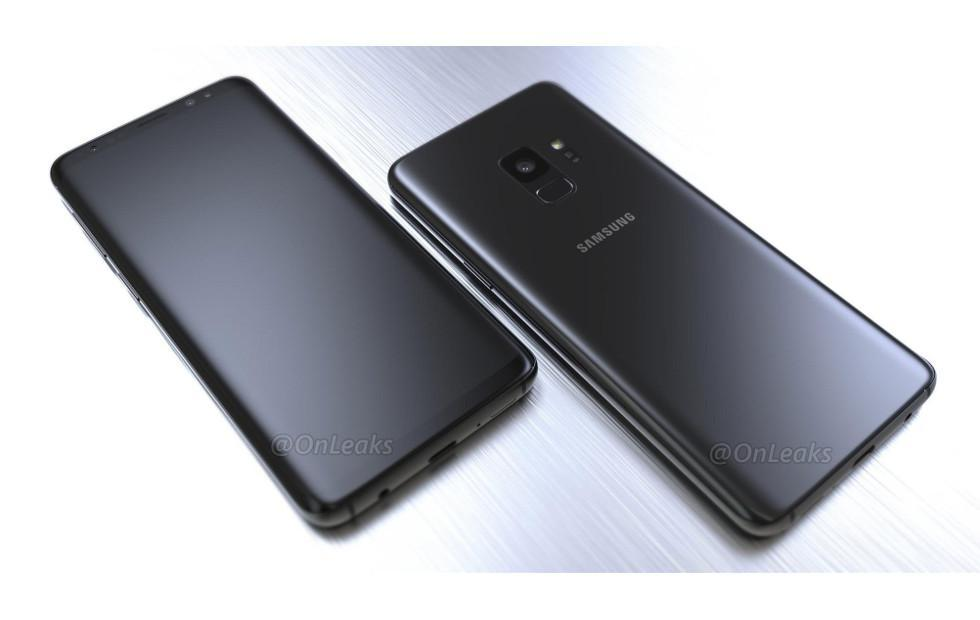 Here are some more Galaxy S9 renders