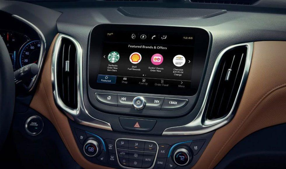 GM owners can order coffee and more from their dash