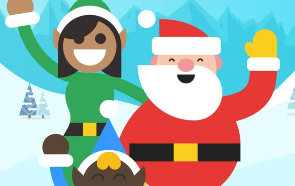 Google's Santa Tracker returns, this time with elf selfies