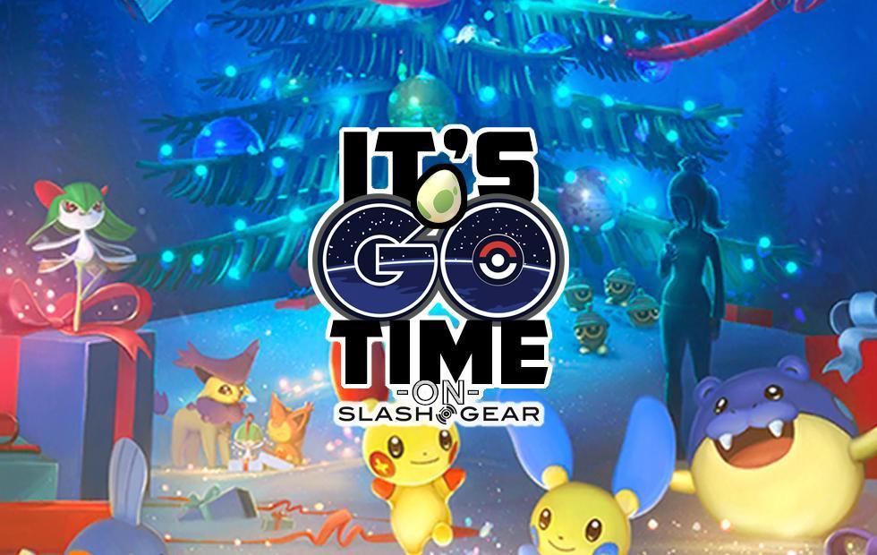 Pokemon GO Christmas 2018 and Present Pikachu