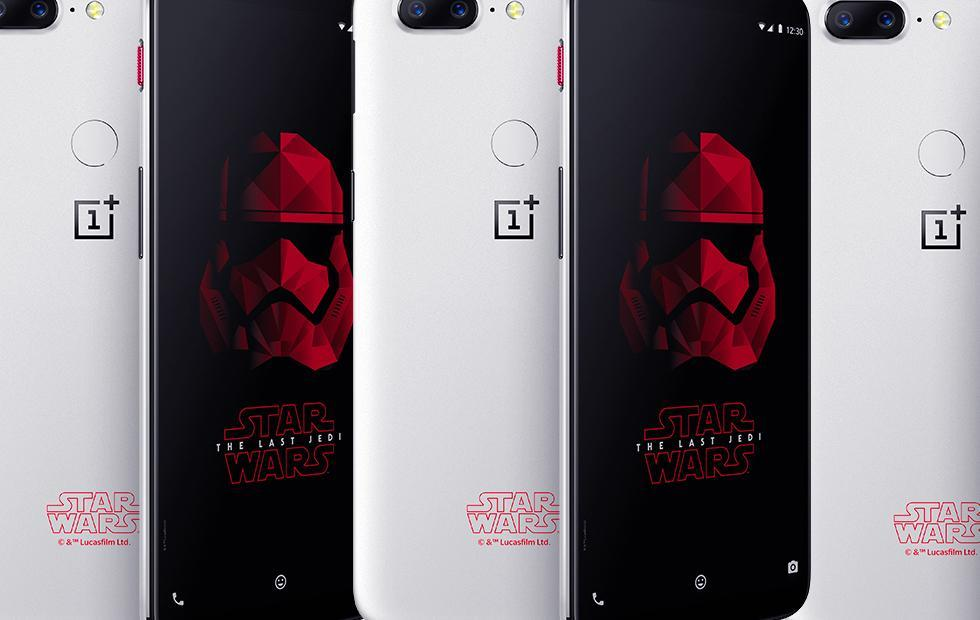 OnePlus 5T Star Wars Edition hides this adorable R2-D2 Easter egg