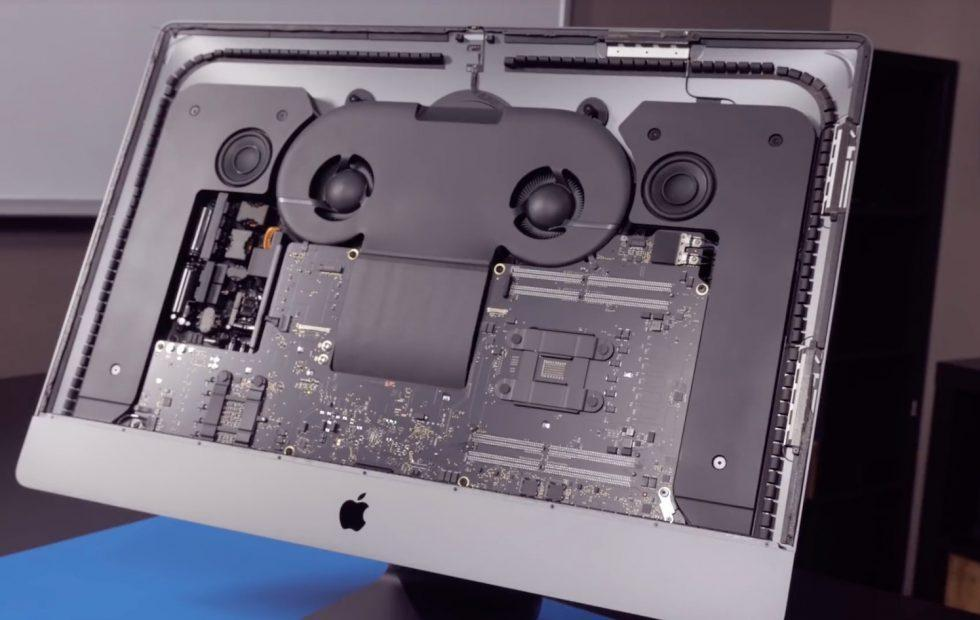 iMac Pro teardown video has good and bad upgrade news