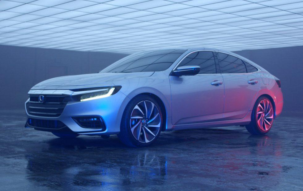 2019 Honda Insight Hybrid Gets A Slick Detroit Preview