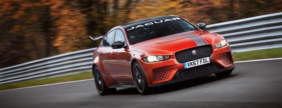 Jaguar XE SV Project 8 is the fastest saloon car in all the land