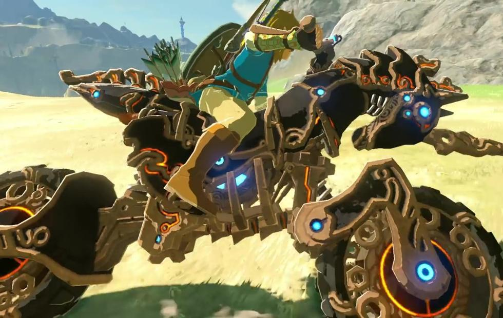 Zelda: Breath of the Wild expansion rolls out with Link on a bike