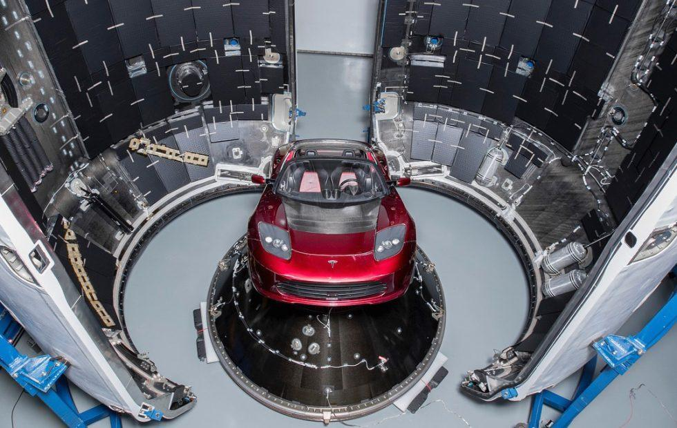 Here's Elon Musk's Tesla that SpaceX will launch into Mars orbit
