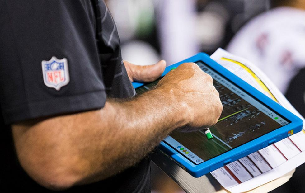 NFL renews Microsoft Surface deal for another year