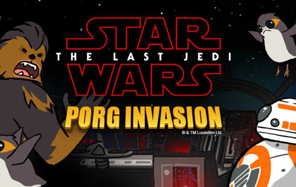 This Star Wars: The Last Jedi porg game is as addictive as Pokemon Go