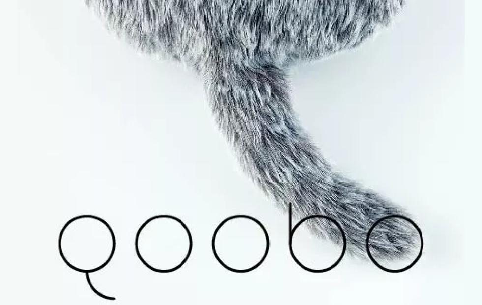 Qoobo therapeutic cat pillow with wagging tail now up for preorder