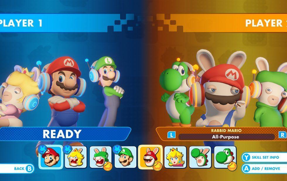 Mario + Rabbids versus mode brings a new type of battle on December 8