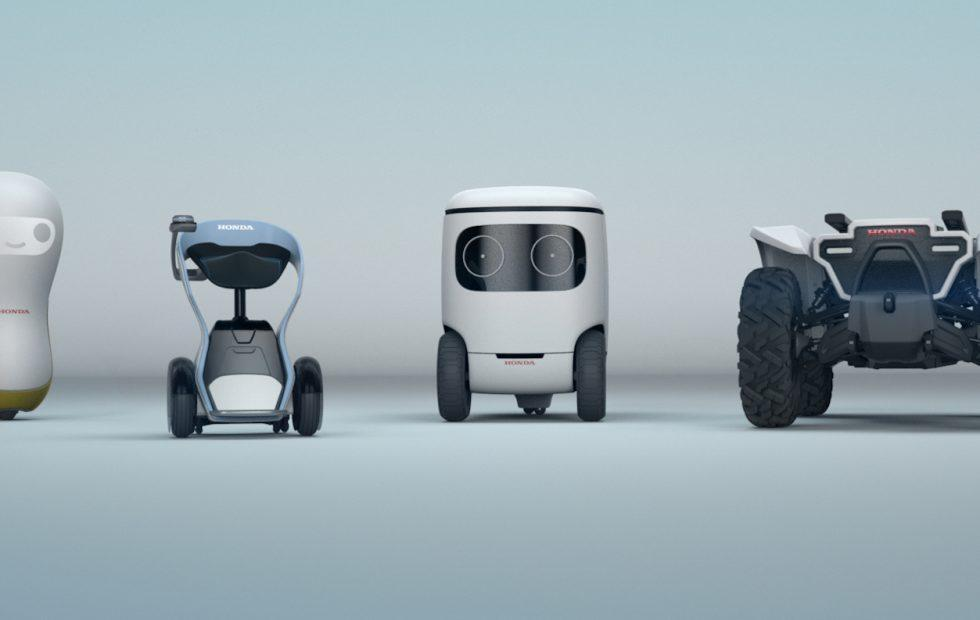 Honda's bringing a robot army to CES (but they want to love you)