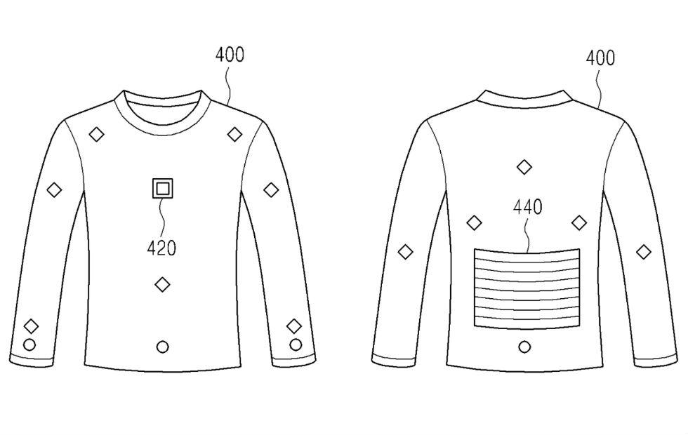 Samsung energy-harvesting clothes could charge your Galaxy S9