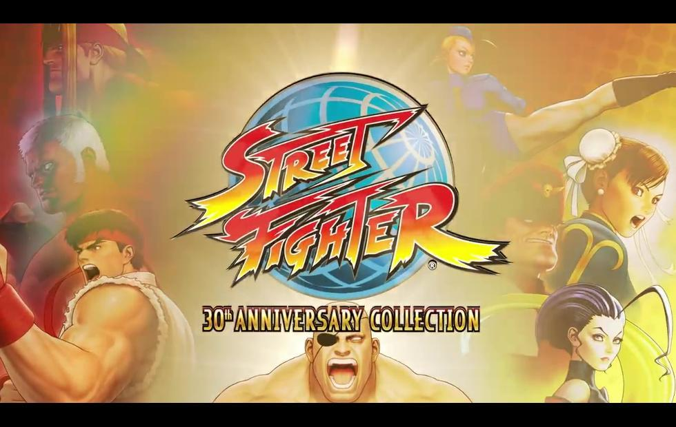 Street Fighter 30th Anniversary Collection brings 12 titles together