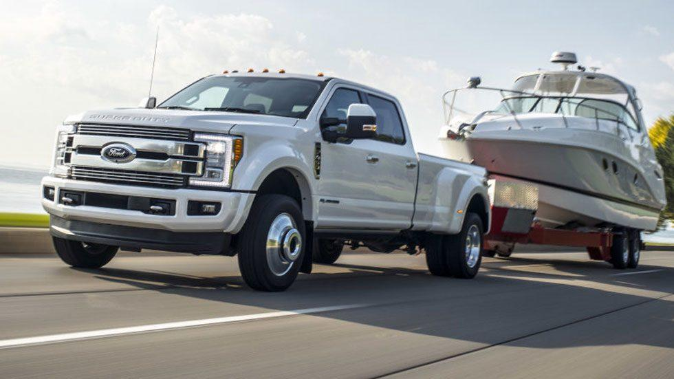2018 Ford Super Duty gets more power and torque