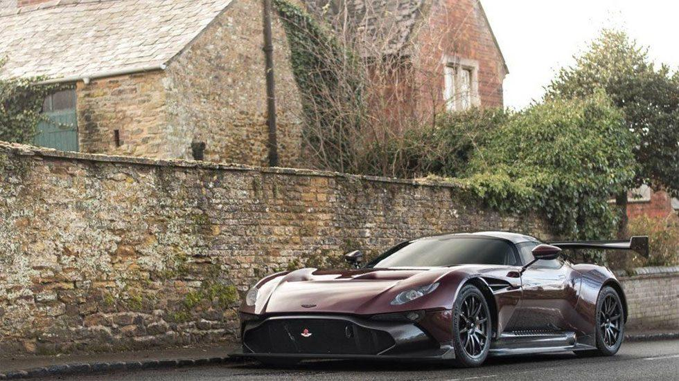 Aston Martin Vulcan track car converted to be street legal