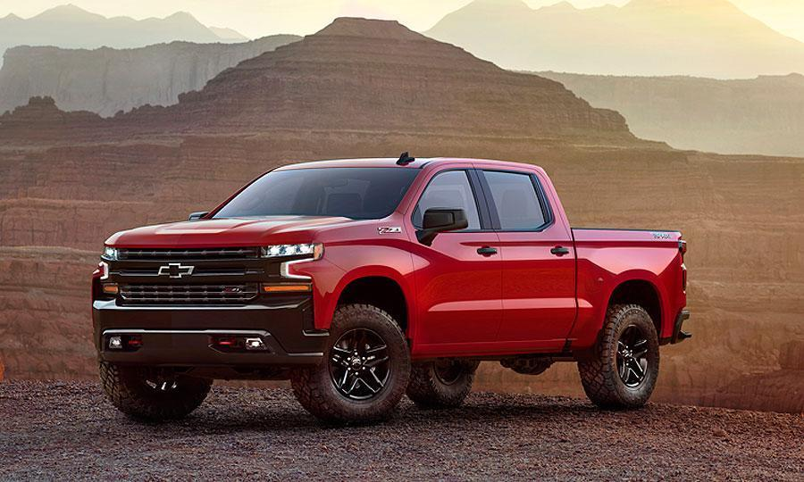 Chevrolet reveals first look at 2019 Silverado pickup