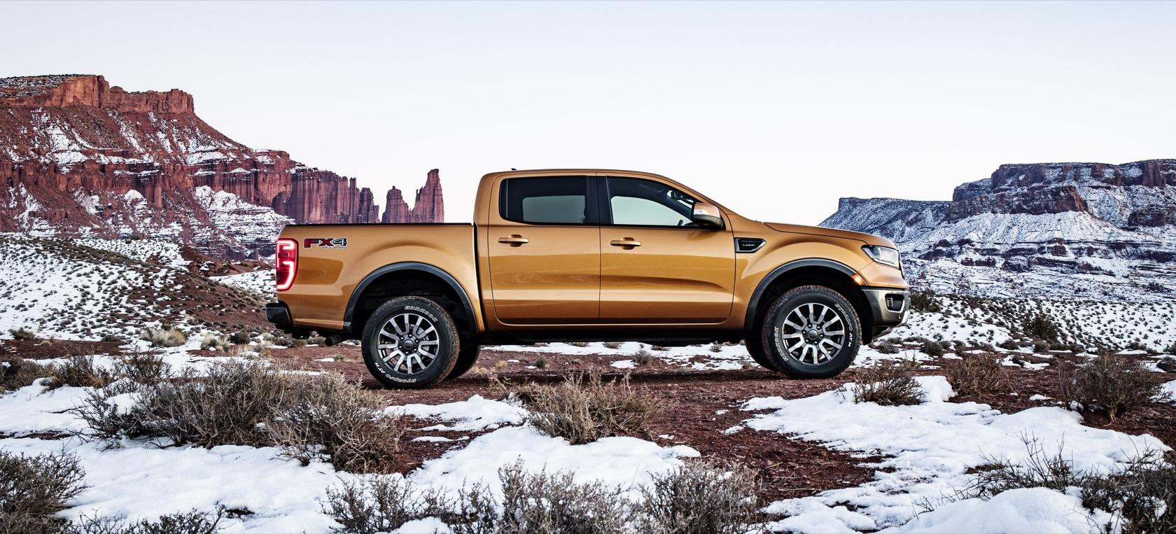 2019 Ford Ranger revealed in Detroit with 2 3L EcoBoost