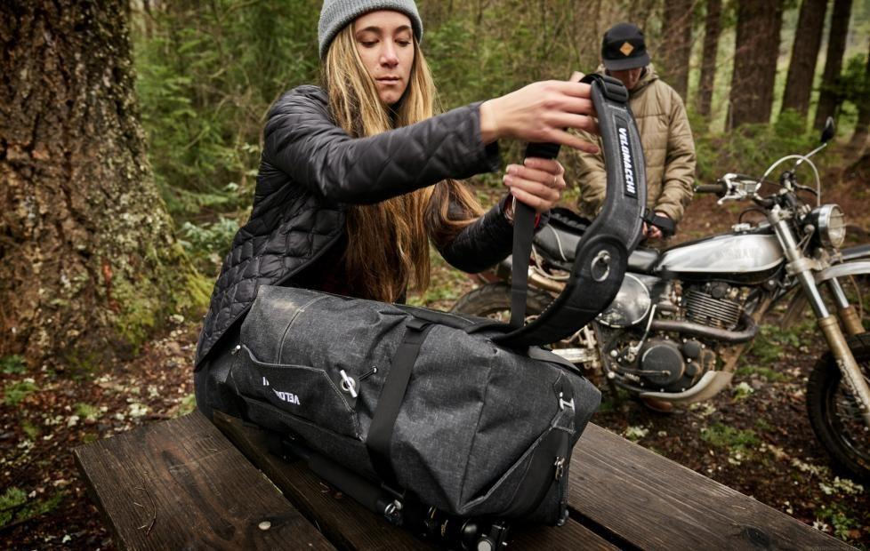Velomacchi bags offer moto-inspired carry gear for road warriors