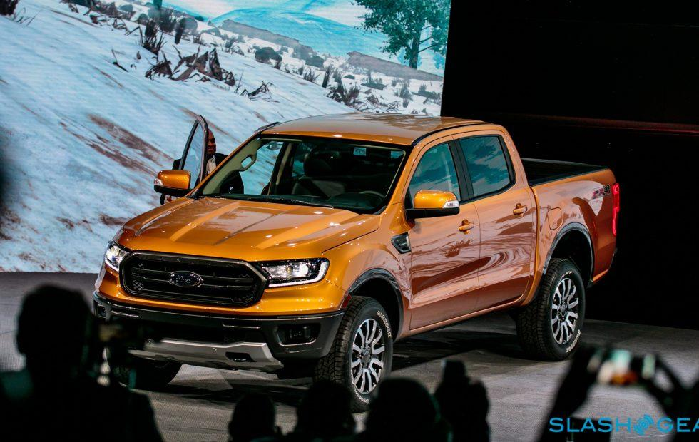 This is the 2019 Ford Ranger – Eyes-on