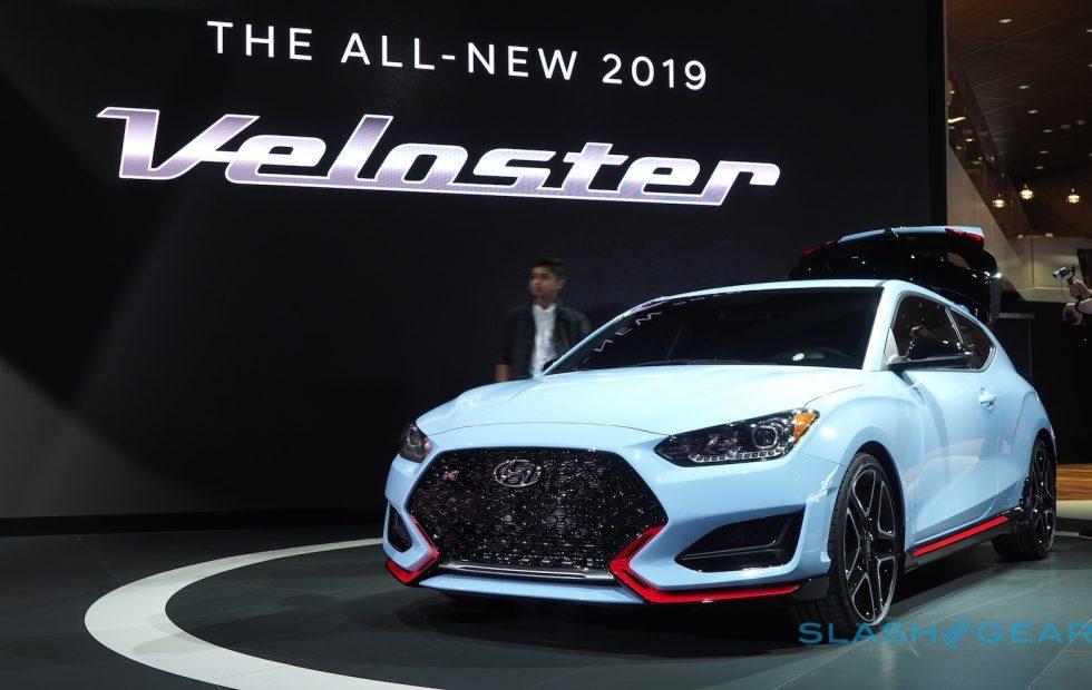2019 Hyundai Veloster N wants to eat the Golf GTI - SlashGear