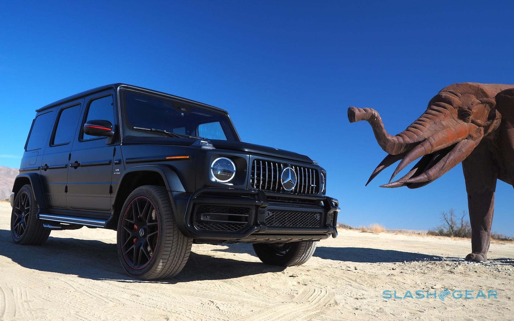 The 2019 Mercedes-AMG G63 is unrepentant excess - SlashGear