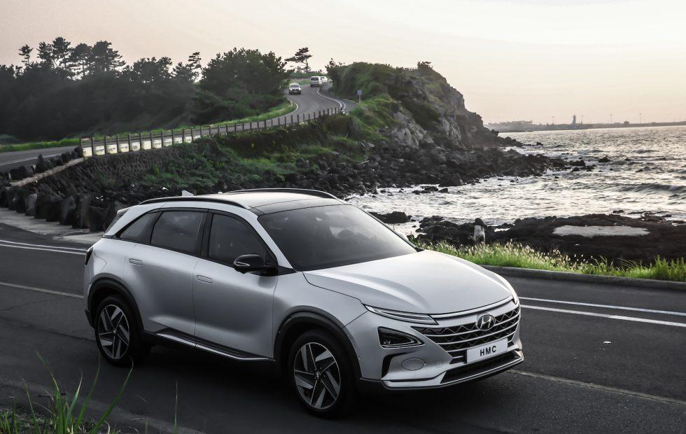 Hyundai's 2021 autonomous car roadmap starts with this fuel-cell SUV