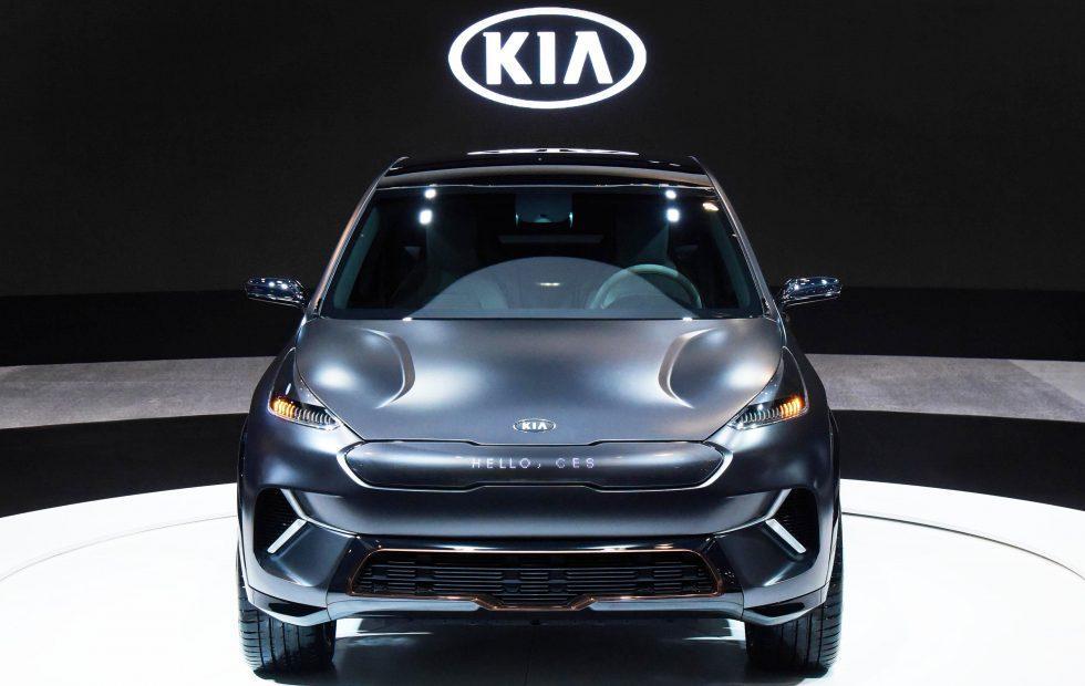 Kia Niro EV Concept gives CES hints of 2025's 16 EV plan