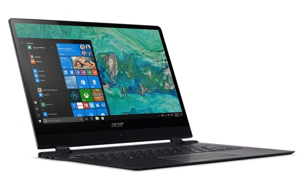 Acer Swift 7 world's thinnest notebook finds room for 4G LTE